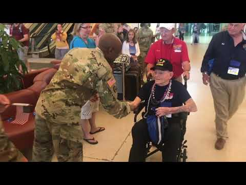 WWII veterans fly in from Florida to visit National WWII Museum Mp3