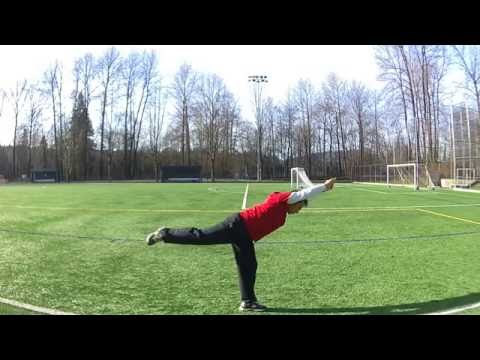 Port Moody BC - Soccer Field Workout by Noel Oco