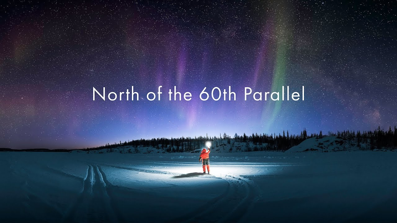 Map Of Canada 60th Parallel.North Of The 60th Parallel
