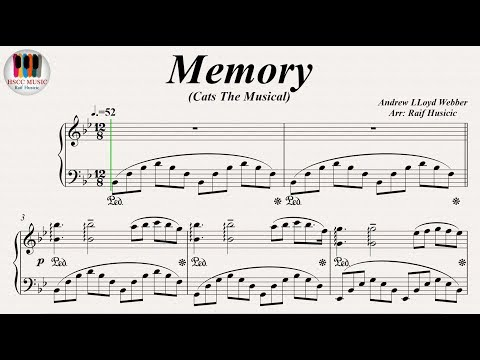 Memory (Cats The Musical) - Barbra Streisand, Betty Buckley, Piano
