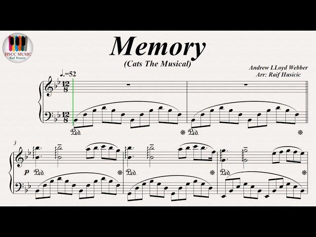 Memory (Cats The Musical) - Barbra Streisand, Betty Buckley, Piano
