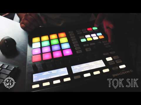 Making a beat from scratch on Maschine - Tok Sik