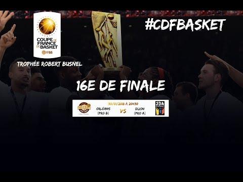 Live - Orléans - Dijon - 16e de finale de la Coupe de France