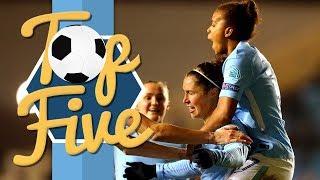 Women's top 5 champions league goals