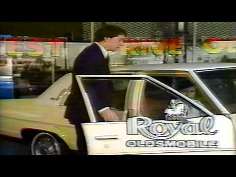Archie Manning 1979 Royal Oldsmobile Commercial New Orleans