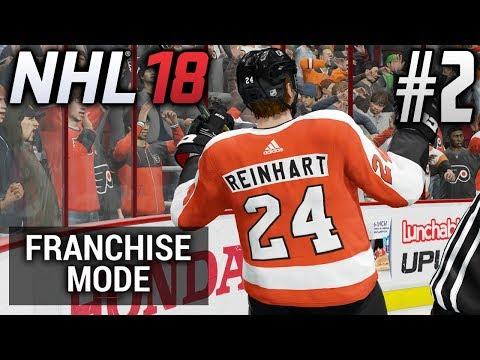 NHL 18 Franchise Mode | Philadelphia Flyers | EP2 | I HAD TO GET HIM, AGAIN! (S1G12)