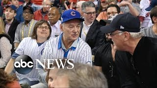 Bill Murray Gives Cubs Super-Fan Extra World Series Ticket