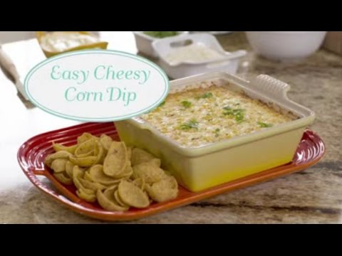 How to Make Easy Cheesy Corn Dip