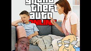 Herbert the Pervert Gets Kid Grounded (GTA 5 Online TROLLING)