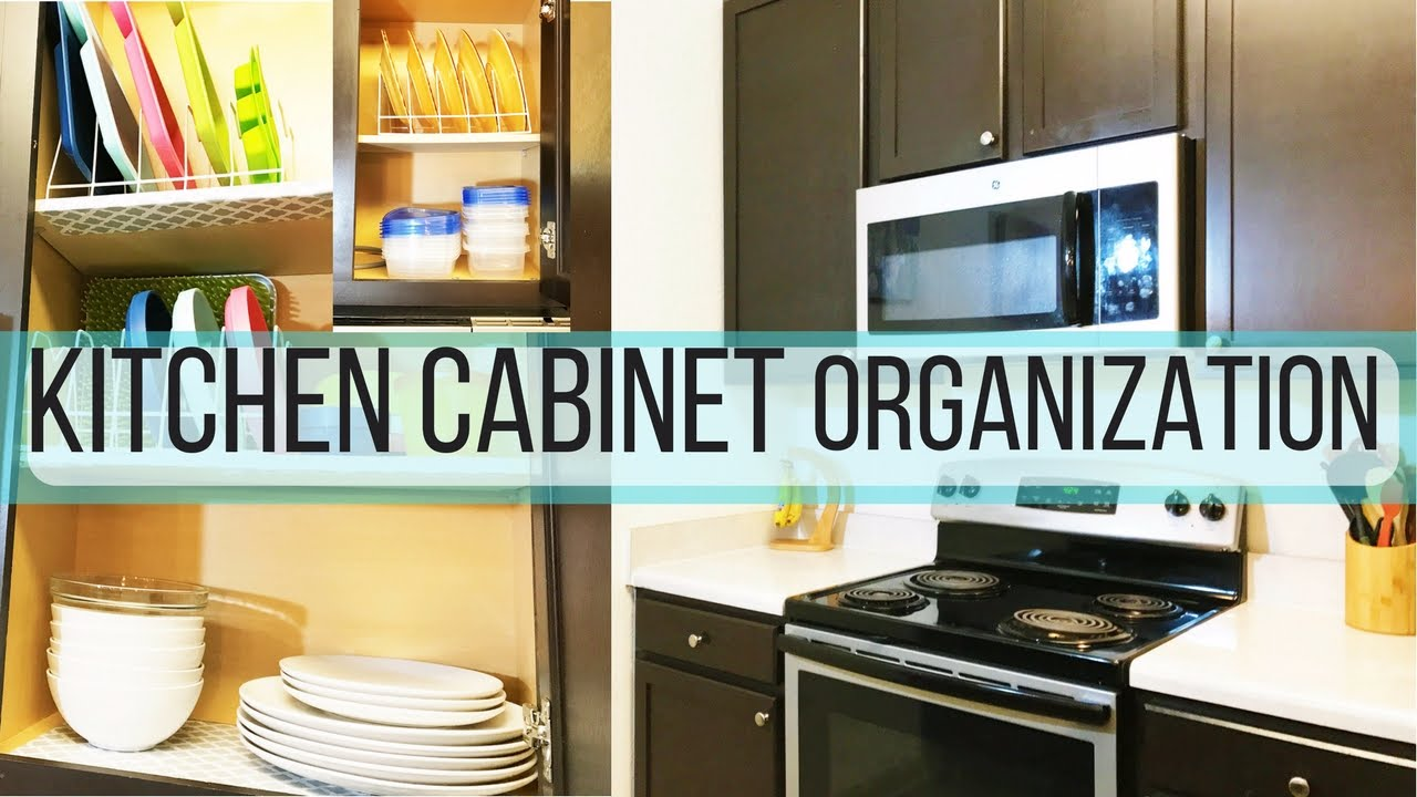 DIY KITCHEN CABINET MAKEOVER! DOLLAR TREE 2017_SMALL KITCHEN