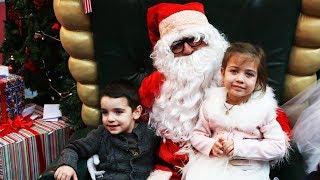 Эмилюша встречает Деда Мороза
