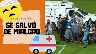 MILAGRO MEDICO del ONCE CALDAS le salva la VIDA a jugador en la COPA SUDAMERICANA 2019