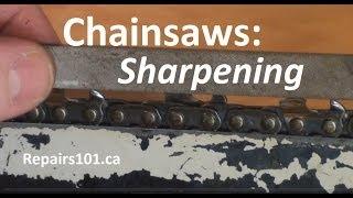 Chainsaws : Sharpening