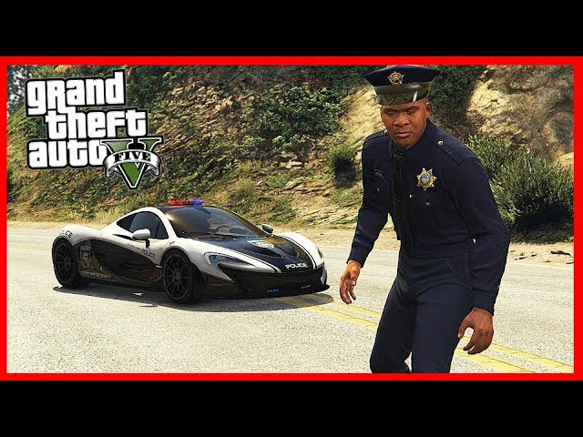 UKRADL JSEM NEJLEPŠÍ POLICEJNÍ AUTO V GTA ! (GTA 5 Módy)