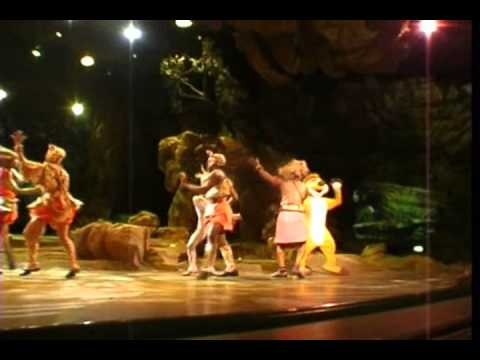 Legend of the Lion King Disneyland Paris