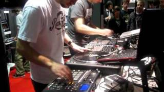 AKD & Koljeticut SHOWCASE @ Vestax Booth Musikmesse 2010 Part2