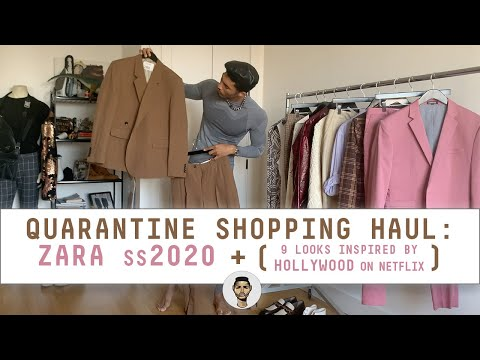 Zara SS20 Shopping Haul—with A HOLLYWOOD Netflix Twist! | Men's Fashion & Style 2020 | Jovel Roystan