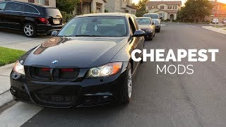 Most Affordable BMW Mods  (ALL UNDER $30)