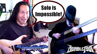 Can He Play This Impossible Guitar Solo? Bumblefoot With Herman Li Of DragonForce