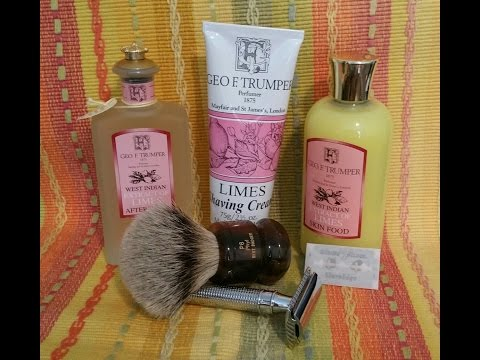 A *Very* British Shave - Trumper's Lime