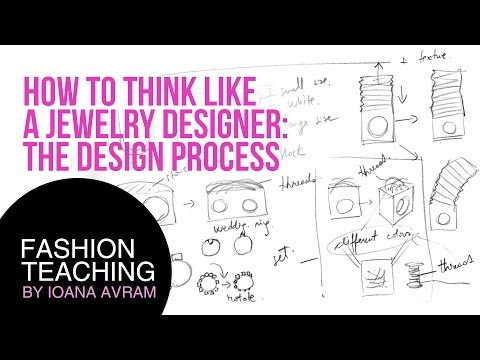 How to think like a jewelry designer: The Design Process