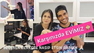 YENİ EV TURU !! #vlog