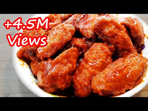 THE EASIEST CRISPY BUFFALO CHICKEN WINGS RECIPE | SUPER YUMMY!!!