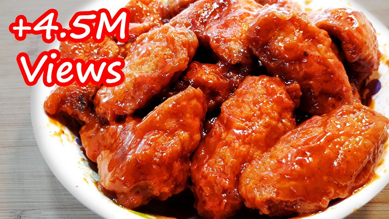 The Easiest Crispy Buffalo Chicken Wings Recipe Super Yummy Youtube