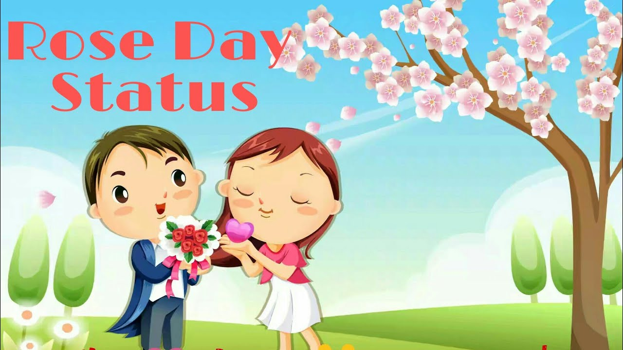 Rose Day Sms Ll Whatsup Status Video Ll Youtube