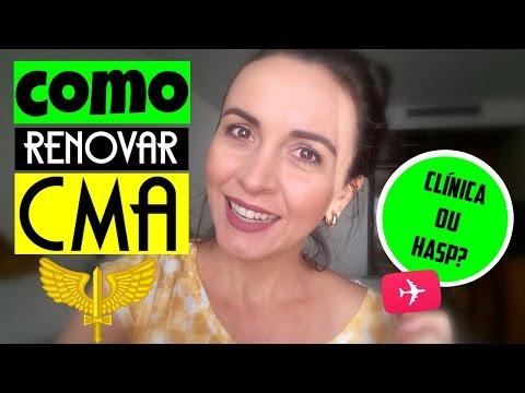 COMO RENOVAR O CMA | COMISSARIOS DE VOO |...