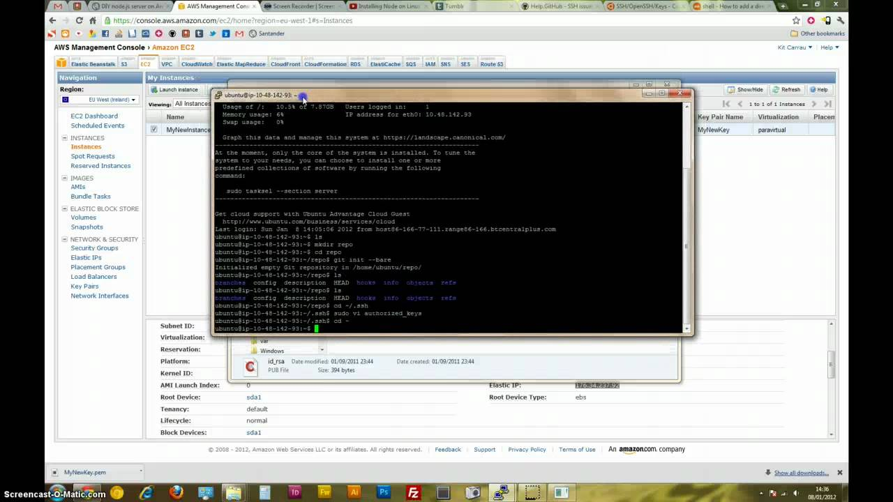 Deploying to EC2 using Git (part 1)