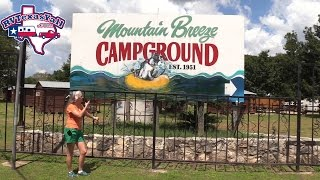 Mountain Breeze Campground | New Braunfels TX Campground Tour | RV Texas