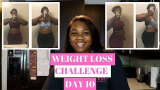 100 DAY WEIGHT LOSS CHALLENGE DAY 10 || WEIGHT LOSS JOURNEY 2019