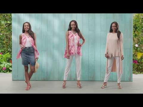 Ways to Wear: Slinky 2 PC Tunic & Pant Set | Spring Fashion Edit. http://bit.ly/2ZPmQ0L