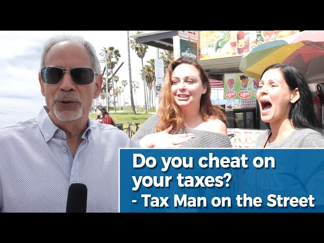 Do You Cheat On Your Taxes? | Venice Beach, Tax Man on the Street