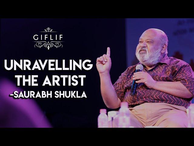 Unravelling the artist | Saurabh Shukla | GIFLIF