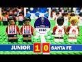 Junior 1 - 0 Santa Fe - LEGO Semifinal CONMEBOL Sudamericana / Resumen Goles 29/11/2018 (Vuelta)