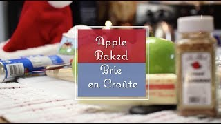 Apple Baked Brie En Croûte - La Belle Cuisine : Holiday Special