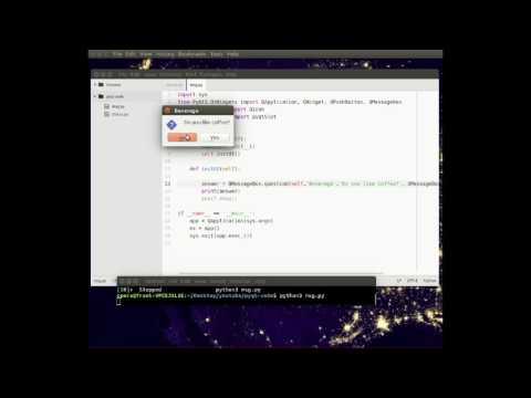 pyqt5 - qmessagebox - YouTube