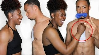 WAXING CHALLENGE GONE WRONG😱 | Back, Chest, and Face!!!