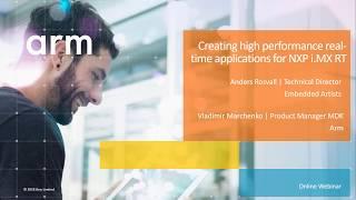 Wie erstellen Sie high-performance real-time-Anwendungen für NXP-ich.MX