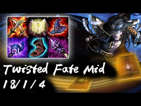 Korea Diamond 1 Twisted Fate vs Viktor | 1 card 1 kill | Korea High Elo