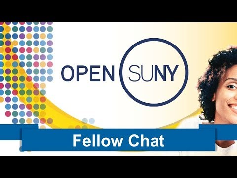 Fellow Chat: SUNY Canton: Reducing Online Student Isolation
