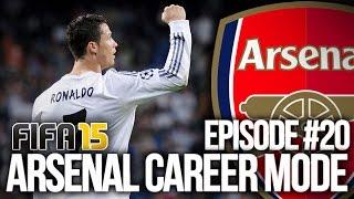 FIFA 15: ARSENAL CAREER MODE #20 - REAL MADRID!!!