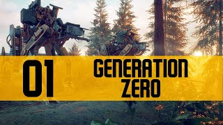 Generation Zero Gameplay PC Let's Play BETA Part 1 (MACHINE MYSTERY)