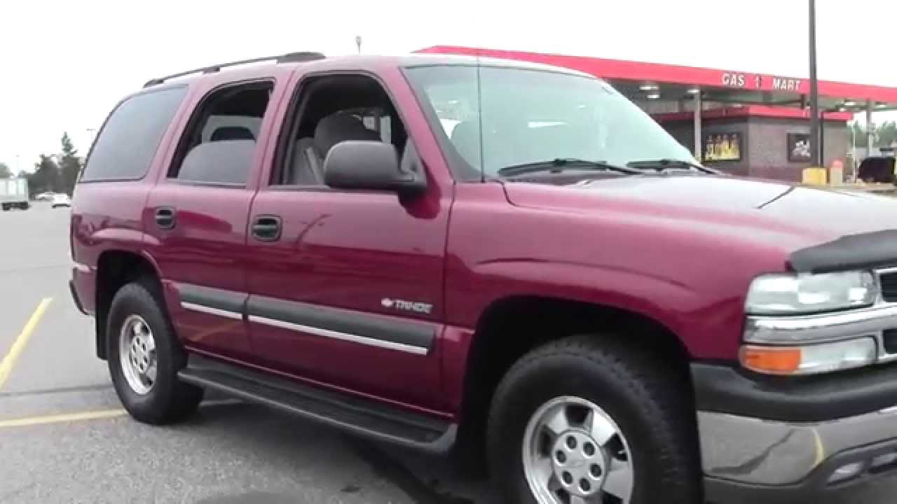 2003 Chevrolet Tahoe 1500 LS 2G140015B - YouTube