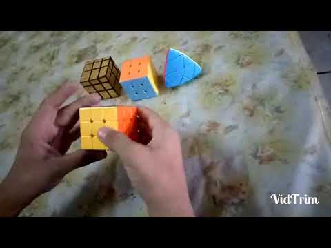 How to solve 1st layer of the 3*3 Rubik cube through easiest way