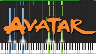Avatar Medley - The Last Airbender [Piano Tutorial] (Synthesia)