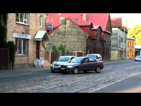 NEW road rage in Latvia!!