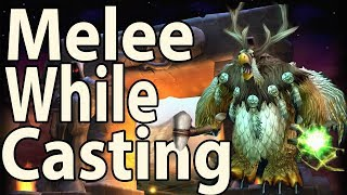 How To Melee While Casting Instant Spells - Classic WoW